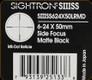 Sightron - SIII SS - 6-24x50mm - Matte - SF - Long Range Mildot