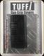 Tuff 1 slip on grip cover - Double Cross Grip - Black