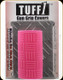 Tuff 1 slip on grip cover - Double Cross Grip - Hot Pink