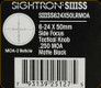 Sightron - SIII SS - 6-24x50mm - Matte - SF Tactical Knob - MOA 2 Reticle