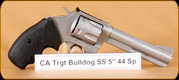 "Charter Arms - Target Bulldog SS - 44Special - 5"", Model 74450"