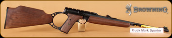 "Browning - Buckmark - 22LR - Sporter, Wd/Bl, 18"""