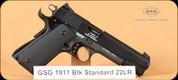 GSG - 1911 - 22LR - Black Standard