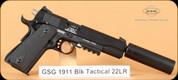 GSG - 1911 - 22LR - Black Tactical