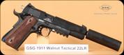GSG - 1911 - 22LR - Walnut Tactical