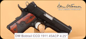 Dan Wesson - CCO - 45ACP - Wood/Black, 2 mags, 4.25""