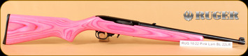 Ruger - 10/22 - 22LR - Pink Lam/Blued, 16""