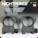 "NightForce - XTRM - Ring Set - 1.125"" High - 30mm - Steel - A104"