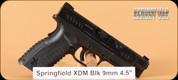 "Springfield - XDM - 9mm - BlackSyn, Range Kit, 4.5"""