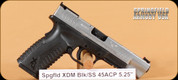 "Springfield - XDM - 45ACP - Blk/SS, 5.25"""