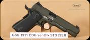GSG - 1911 - 22LR - OD Green Black Standard