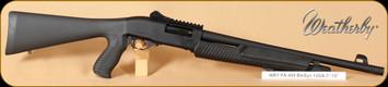 """Weatherby - PA 459 - 12Ga/18.5"""" - TR Pump, BlkSyn"""