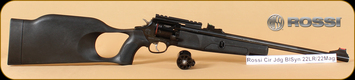 """Rossi - Circuit Judge - 22LR/22Mag - Bl/Syn, 18.5"""", Two Cylinders, Restricted"""