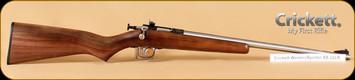 Crickett - 22LR - Walnut Western Sporter SS