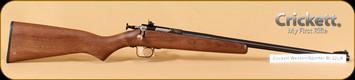 Crickett - 22LR - Walnut Western Sporter Bl
