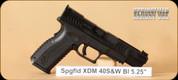 """Springfield - XDM - 40S&W - Blk, 5.25"""""""