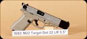 """ISSC Austria - 22LR - M22 - Target Dst, 5.5"""""""