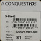 Zeiss - Conquest HD5 - 3-15x42 - Rapid-Z 600