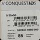 Zeiss - Conquest HD5 - 5-25x50 - Lock Rapid-Z Varmint