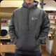 Prophet River - Pullover Hoodie - Gray with white logo - Large