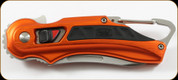 Buck Knives - Flashpoint, Orange 6061-T6 Alum Hdl, Carabineer & Pkt Clp