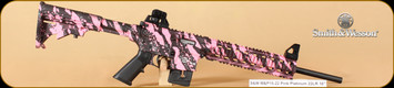S&W - M&P15-22 - 22LR - Pink Platinum, 16""