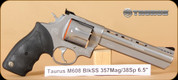 "Taurus - M608 - 357Mag/38Spl - BlkSS, 6.5"""