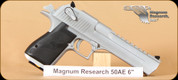 Magnum Research - Desert Eagle - 50AE - 6""