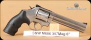 "S&W - Model 686 - 357Mag - 6"""