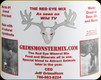 Grims Monster Mix - Red Eye mineral mix attractant - 2 US gallon bucket