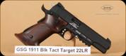 GSG - 1911 - 22LR - Black Target - Walnut grips