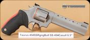 "Taurus - Raging Bull - 454Casull - Blk/SS, 6.5"""