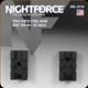 NIGHTFORCE - XTRM - Base - Rem 700 SA - 2pc - 20 MOA - A114