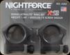 "NightForce - XTRM - Ring Set - 1.0"" Medium - 30mm - Ultralite - 6 Screw - A265"
