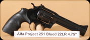 Alfa Proj - 251 - 22LR - Blued, 4.5""