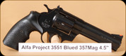 Alfa Proj - 3551 - 357Mag - Blued, 4.5""