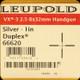 Leupold - VX-3 Handgun - 2.5-8x32mm - Silver - Duplex