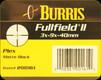 Burris - Fullfield II - 3x-9x-40mm - Matte Black - Plex