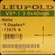 Leupold - VX-1 - 3-9X40MM - MATTE - LR DUPLEX