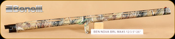 "Benelli - Nova/Super Nova - 12Ga/3.5""/26"" - Barrel Only, Realtree APG, 2 chokes"