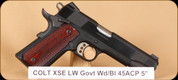 """Colt - 45ACP - XSE Lightweight Govt - Wd/Bl, 2 mags, 5"""""""