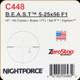 NIGHTFORCE - B.E.A.S.T. - 5-25x56 F1 - ZEROSTOP - i4F - MIL-RADIAN -DigIllum - BRAKE - PTL - MIL-R - C448