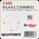 NIGHTFORCE - B.E.A.S.T. - 5-25x56 F1 - ZEROSTOP - i4F - MOA - DigIllum - BRAKE - PTL - MOAR - C450