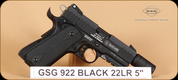 "GSG - 922 - 22LR - Black, 5"""