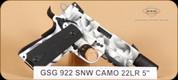 """GSG - 922 - 22LR - Snow Camo, 5"""""""