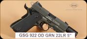 "GSG - 922 - 22LR - OD Green, 5"""