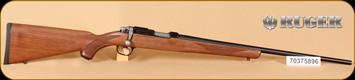 "Ruger - 17HMR - 77/17 - Checkered Walnut, Blued, 22"" - b"