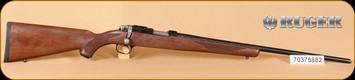 """Ruger - 77/17 - 17HMR - Checkered Walnut, Blued, 22"""" - e"""