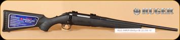 "Ruger - American - 22-250Rem - BlkSyn Bl, 18"""