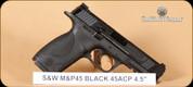 """S&W - M&P45 - 45ACP - Black, 4.5"""""""